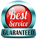 Best Service Guaranteed Logo