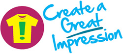 Create a Great Impression Logo